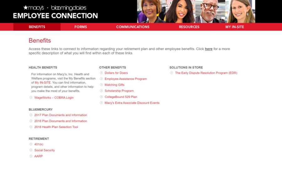 Employee Connect Benefits – Complete List
