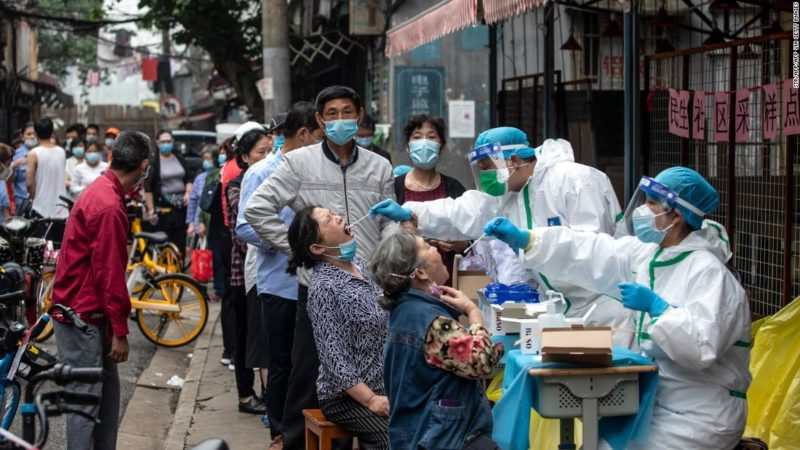 According to state media, Wuhan tested 6.5 million coronaviruses in just 9 days.